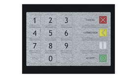 ATM Keypad Stock Photography