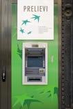 ATM - Kontant punkt Royaltyfri Bild