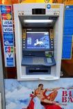 ATM - Kontant punkt Arkivbild