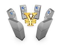 ATM-Konzept. Stockfoto