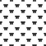 Atm kwitu maszynowy wzór, prosty styl Obrazy Stock