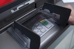 ATM-machine stock afbeelding