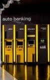 ATM-machine Stock Foto's