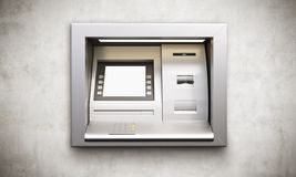 ATM machine blank display Stock Photography