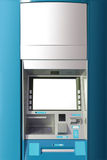 ATM machine with blank space for AD. ATM machine with blank space for advertising Royalty Free Stock Photo