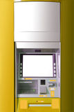 ATM machine with blank space for AD. ATM machine with blank space for advertising Royalty Free Stock Photos