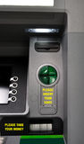 ATM machine detail Stock Image