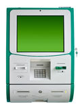 ATM machine isolated Stock Image