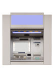 ATM machine isolated on white background Stock Photography