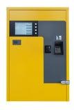 ATM machine isolated on white background Stock Photo