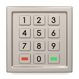 Atm machine keypad Stock Photo