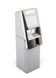 ATM-machine op witte achtergrond 3d vector illustratie