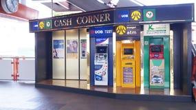 ATM machine service in BTS station Stock Photo