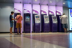 Atm machines Royalty Free Stock Images