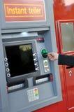 ATM-Maschine Lizenzfreies Stockfoto
