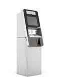 ATM-Maschine Wiedergabe 3d Lizenzfreie Stockbilder