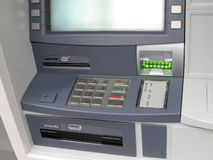 Atm money machine, automated cash point Stock Photos