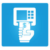 ATM, money machine Royalty Free Stock Image