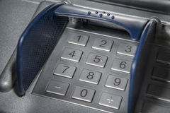 ATM number pad Royalty Free Stock Photos