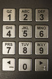 ATM Numeric Keypad Royalty Free Stock Photography