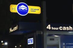 ATM otwierają 24 godziny Fotografia Royalty Free