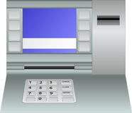 Atm panel Stock Photography