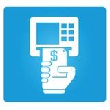 ATM pengarmaskin Royaltyfri Bild