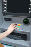 ATM pin code Royalty Free Stock Photo