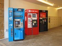 ATM, Querneigung, Lizenzfreies Stockfoto