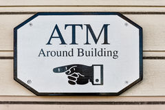ATM Sign Stock Images
