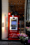 ATM FROM SPARKASSE Stock Photography