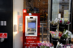 ATM FROM SPARKASSE Stock Image