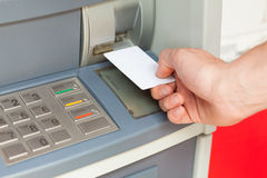ATM system Stock Photo