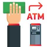 ATM talerz Zdjęcie Stock