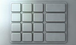 ATM-Tastatur-Nahaufnahme Lizenzfreies Stockbild