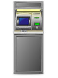 Atm vector illustration Royalty Free Stock Image