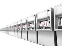 ATM weg Stockfotografie
