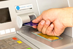 ATM for withdraw your money. Close up ATM for withdraw your money Royalty Free Stock Image