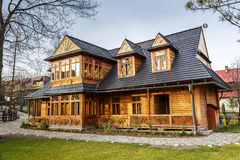 Atma House in Zakopane Royalty Free Stock Photography