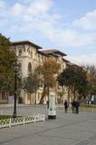 Atmeyadani street. Atmeydani street (Hippodrome of Constantinople) of Istanbul at sunny morning Stock Photography