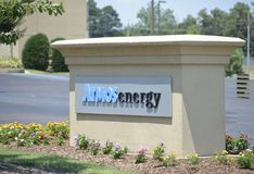 Atmos ενεργειακή εταιρία στοκ φωτογραφίες