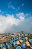 Atmosfär av Phu thapbuek, populär toursitattracton i Phetch Royaltyfri Bild