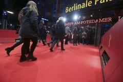 Atmosfär deltar i Berlinalen under den 68th Berlinalen Royaltyfria Bilder
