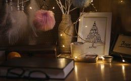 Atmosfär för ` s för nytt år Royaltyfria Bilder