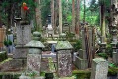 Atmosfärisk kyrkogård Fotografering för Bildbyråer