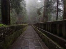 Atmosfärisk tempelbana Arkivfoto