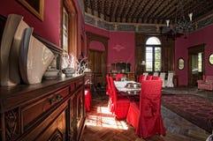 Atmosfeer in het kasteel Royalty-vrije Stock Foto's