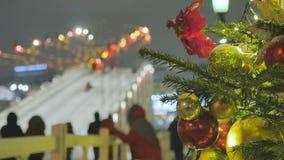 atmosfera świąteczna E Nie w ostrości E zdjęcie wideo