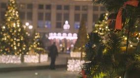 atmosfera świąteczna E r zdjęcie wideo