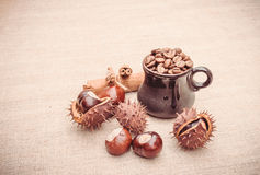Atmosfera accogliente per caffè Immagine Stock